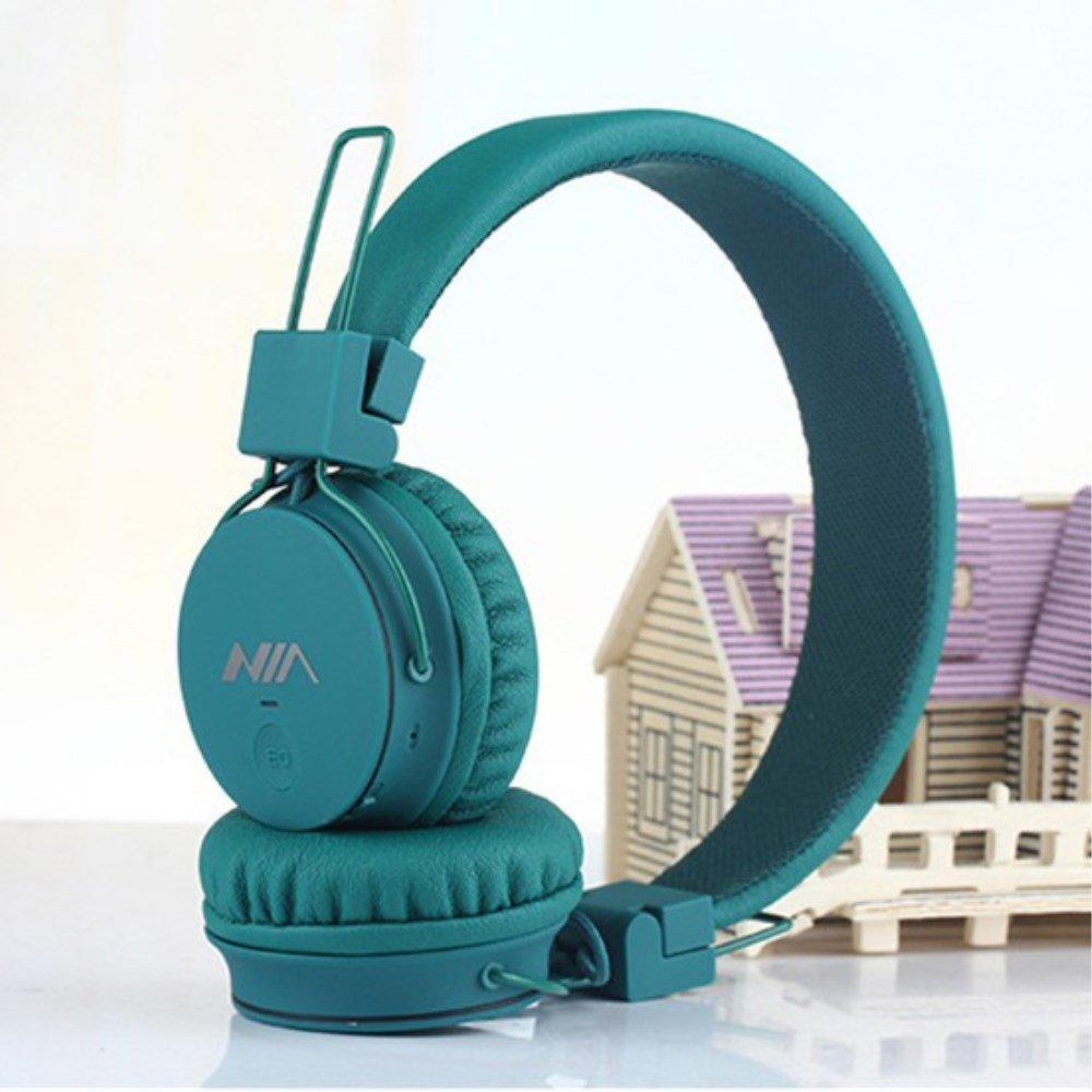 Billede af NIA Trådløst Bluetooth On-Ear Headset/Høretelefoner - Grøn