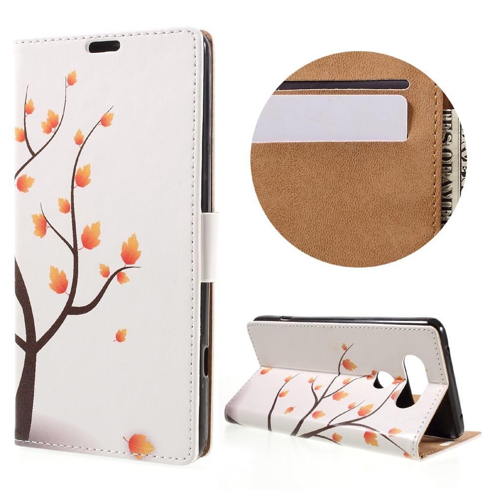 Billede af LG V20 PU læder FlipCover m. Kortholder - Maple Tree