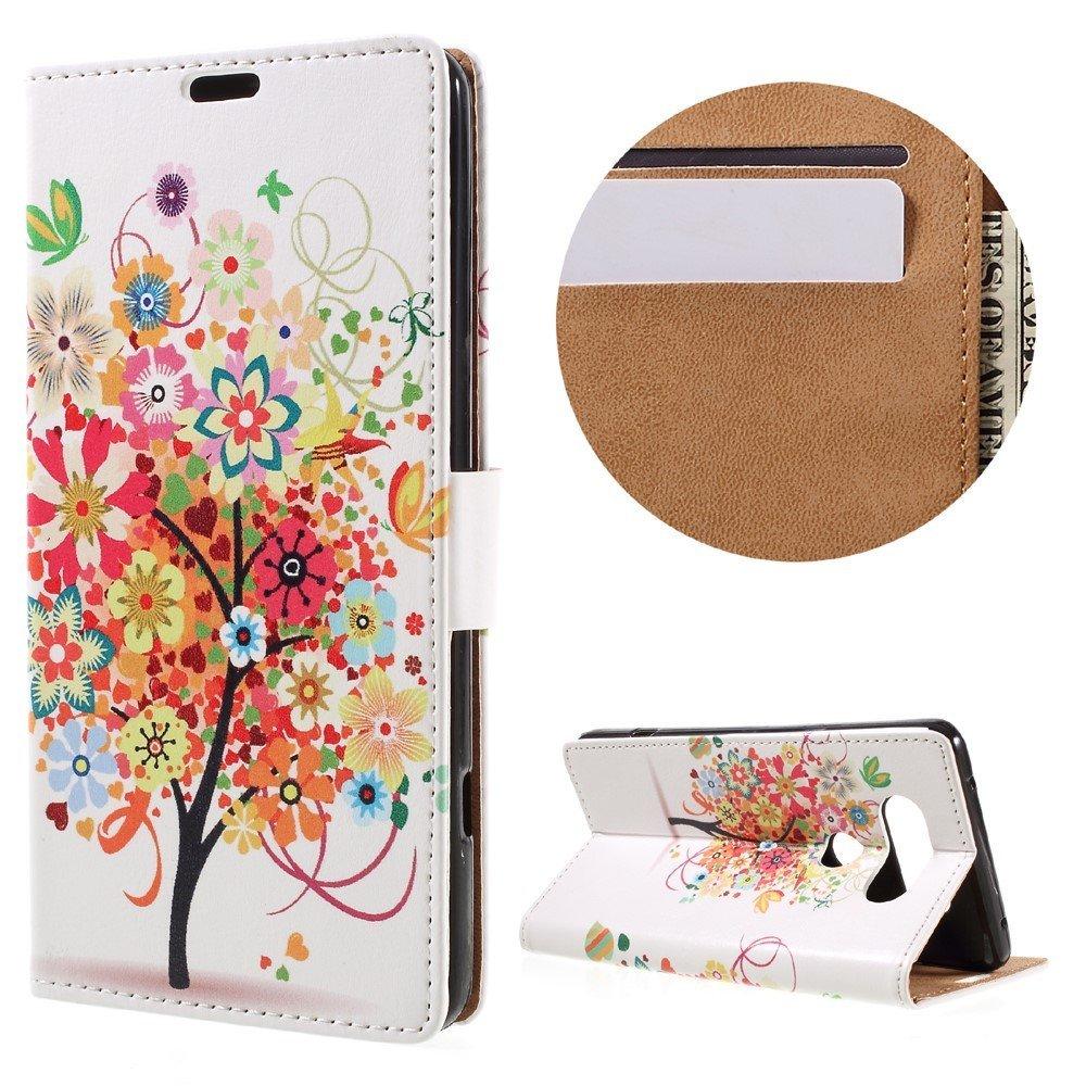 Billede af LG V20 PU læder FlipCover m. Kortholder - Pretty Tree