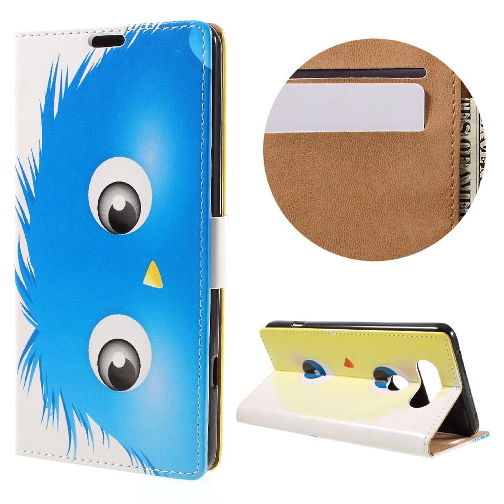Billede af LG V20 PU læder FlipCover m. Kortholder - Blue Animal