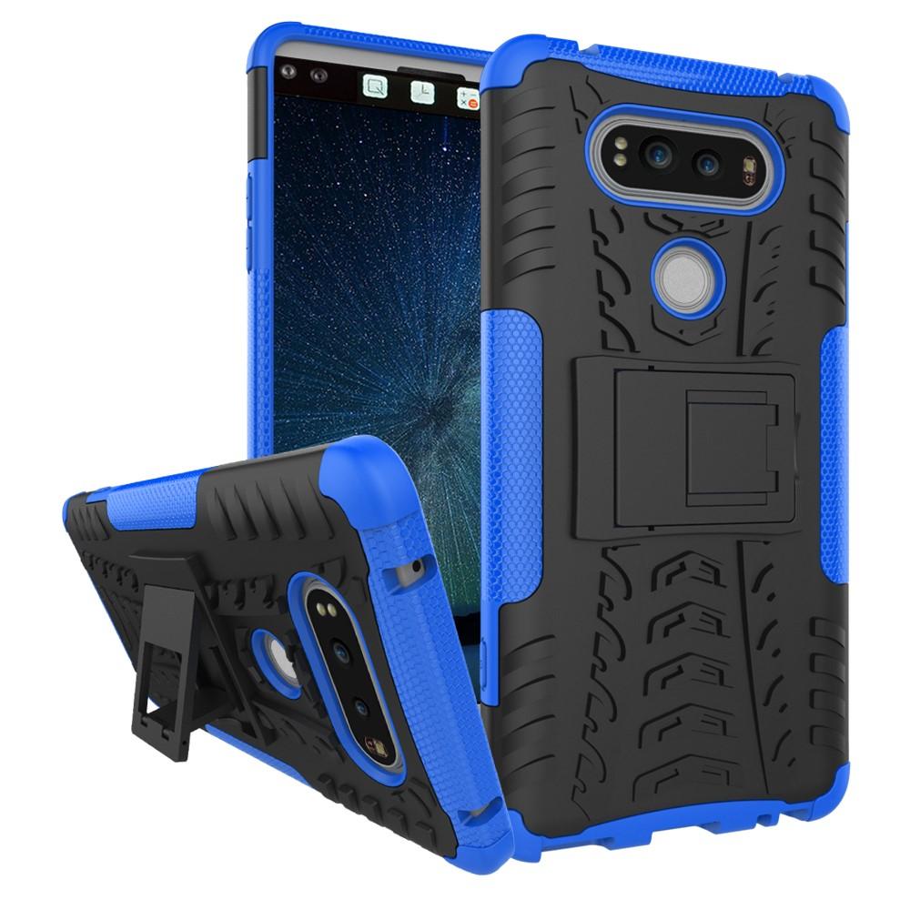 Billede af LG V20 InCover TPU Hybrid Cover m. Stand - Blå