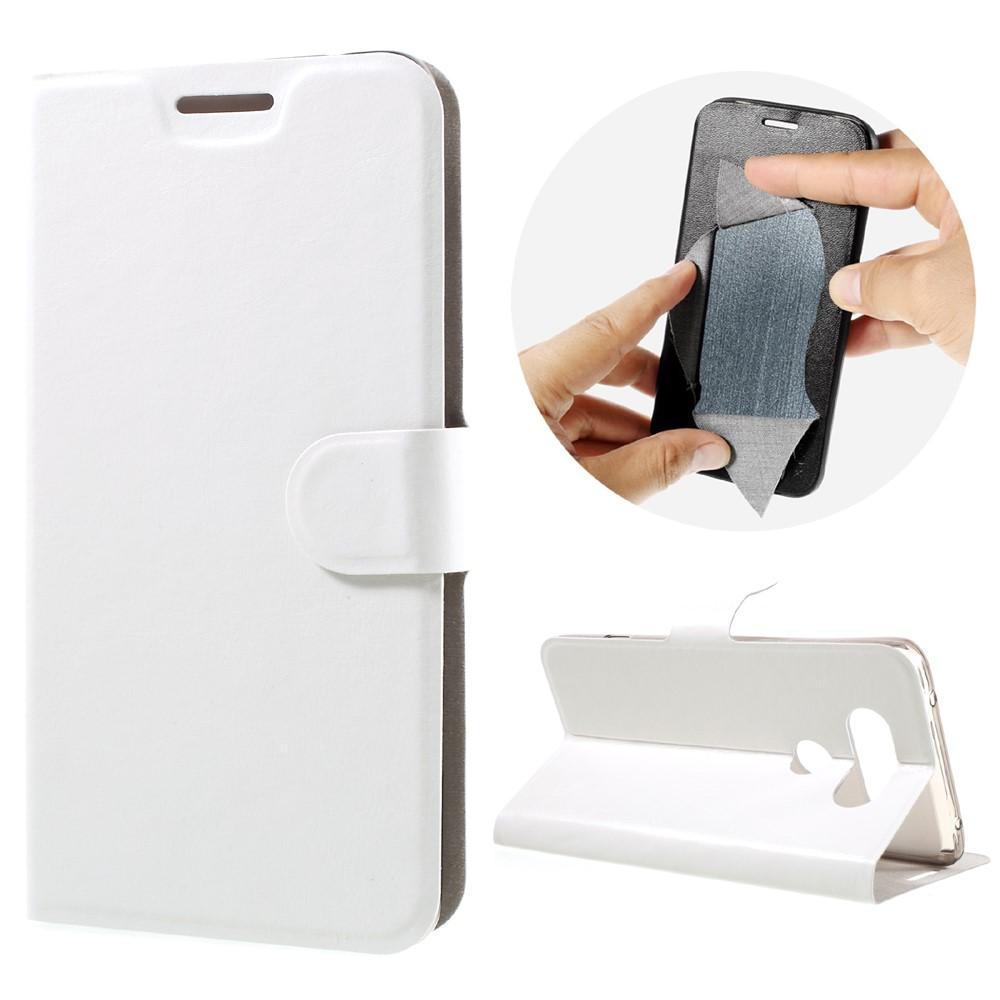 Billede af LG V20 PU læder FlipCover m. Kortholder - Hvid