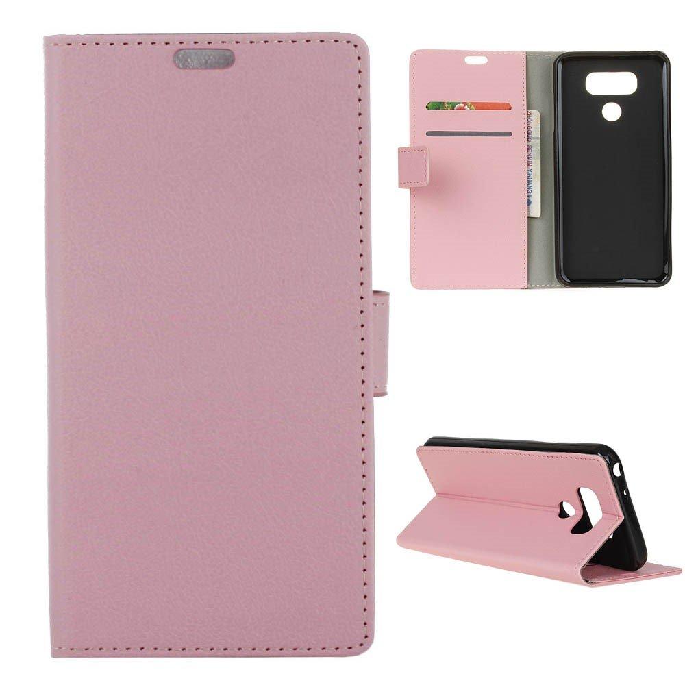 Billede af LG G6 PU læder FlipCover m. Kortholder - Pink