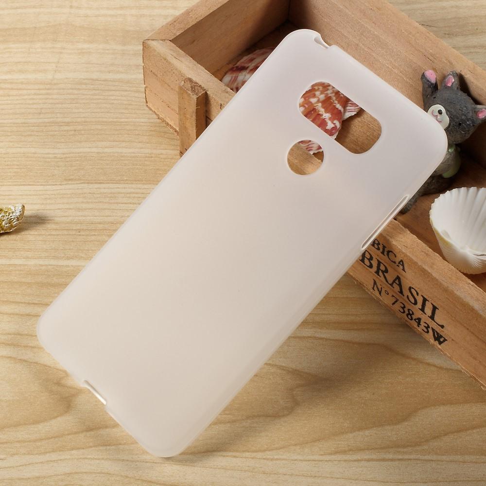 Billede af LG G6 InCover TPU Cover - Hvid/gennemsigtig