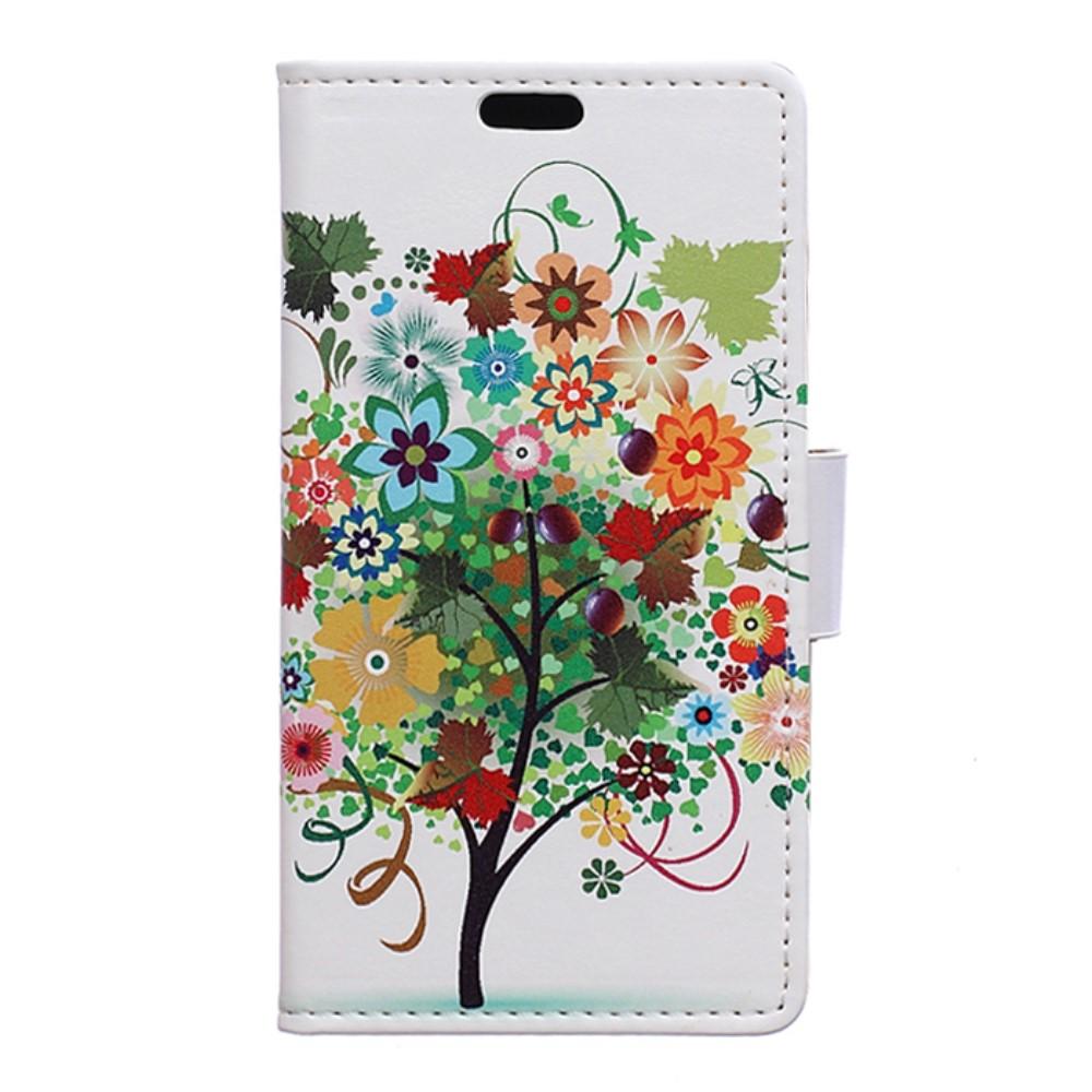 Billede af LG G6 PU læder FlipCover m. Kortholder - Colorized Tree