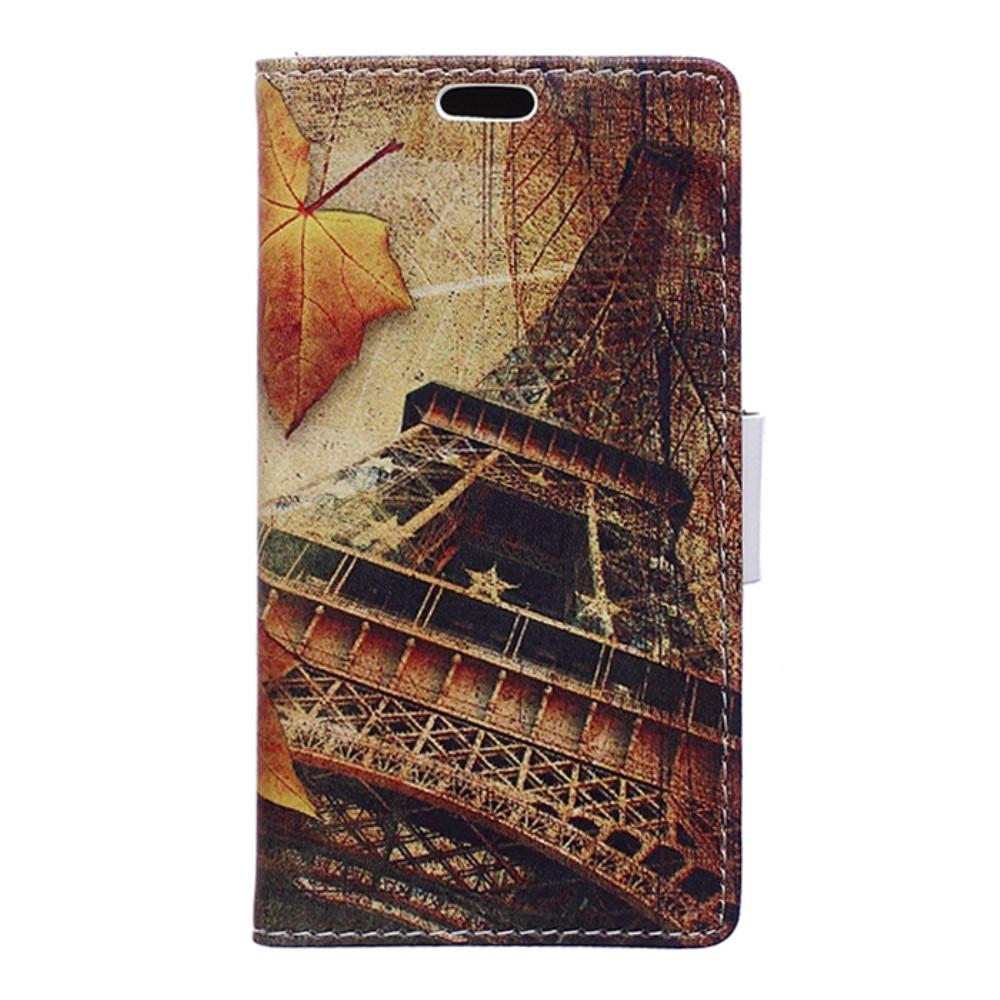 Billede af LG G6 PU læder FlipCover m. Kortholder - Eiffel Tower
