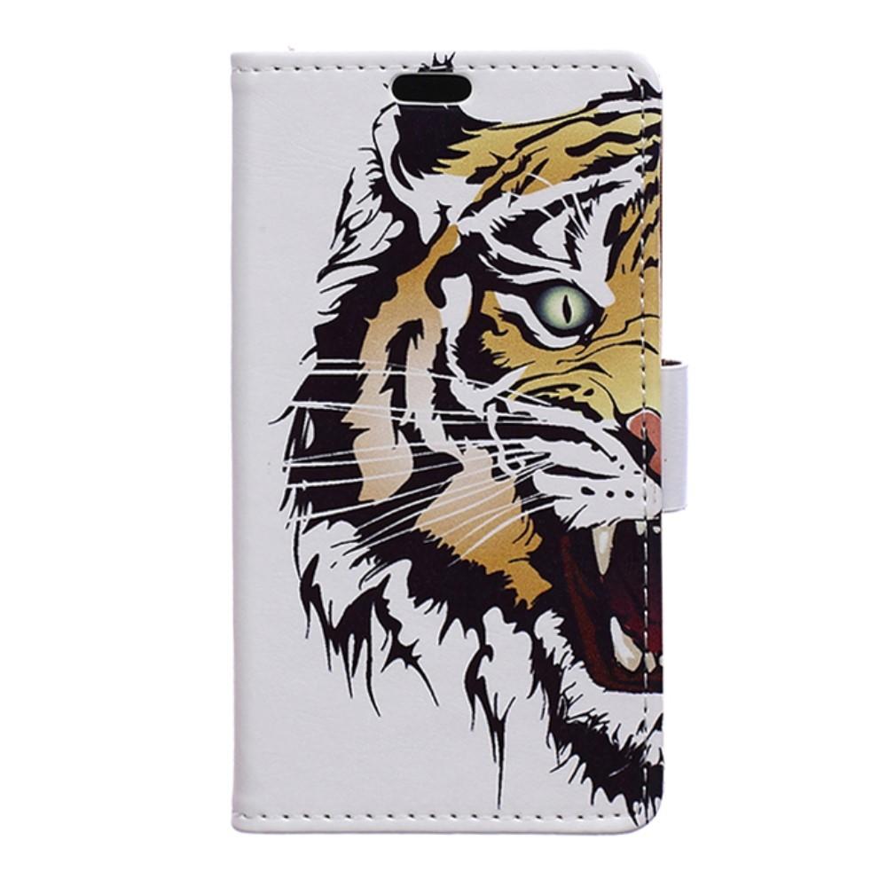 Billede af LG G6 PU læder FlipCover m. Kortholder - Tiger