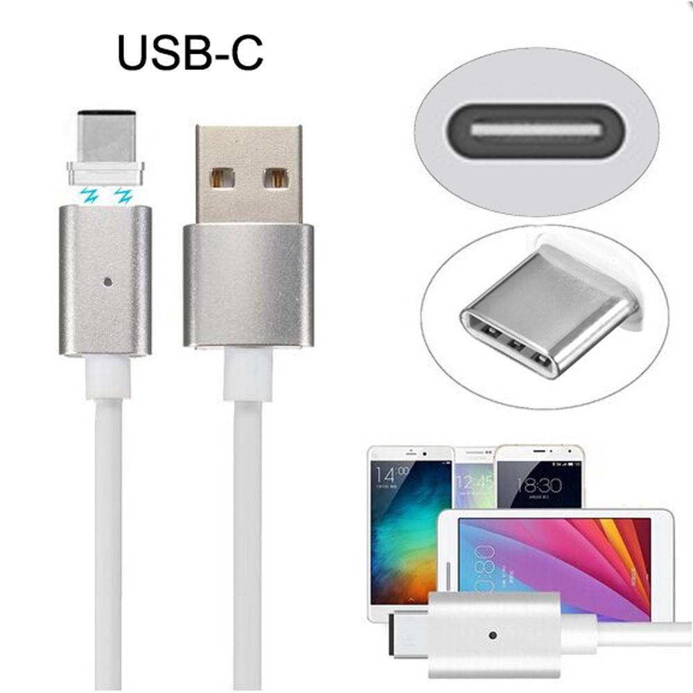 Image of Magnetisk USB-C Opladekabel - Hvid