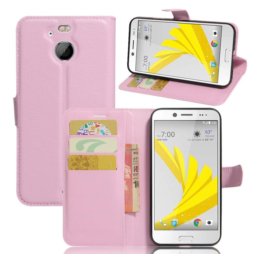 Billede af HTC 10 Evo PU Læder FlipCover m. Kortholder - Pink