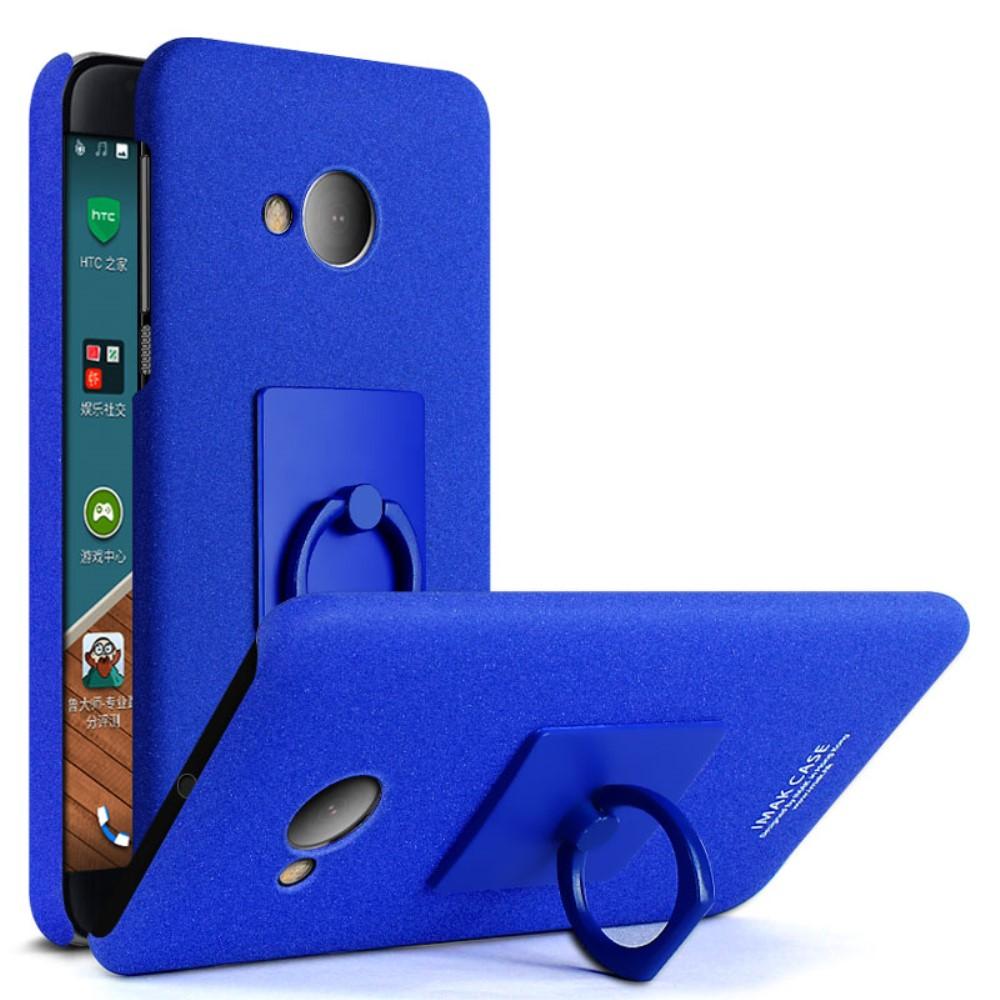 Image of HTC U Play IMAK Plastik Cover m. Ringholder - Blå