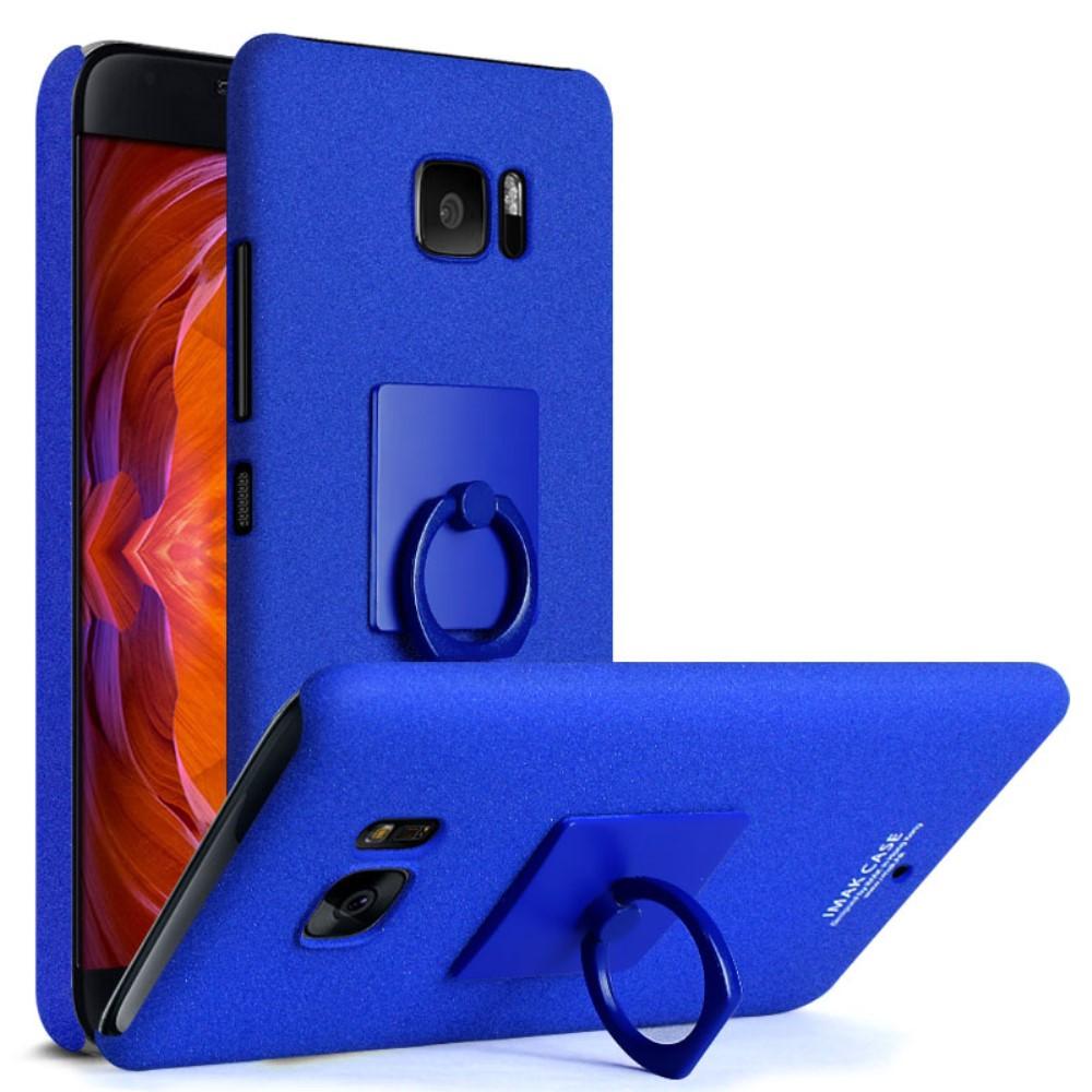 Billede af HTC U Ultra IMAK Plastik Cover m. Ringholder - Blå