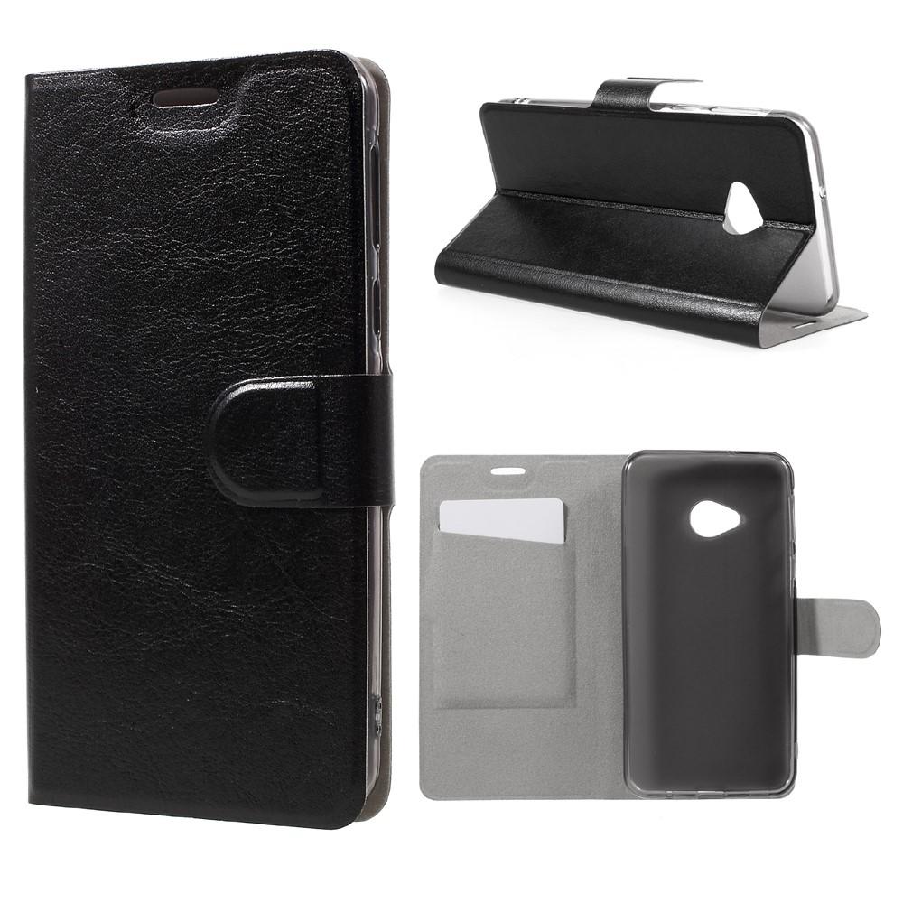 Billede af HTC U Play PU læder FlipCover m. Kortholder - Sort