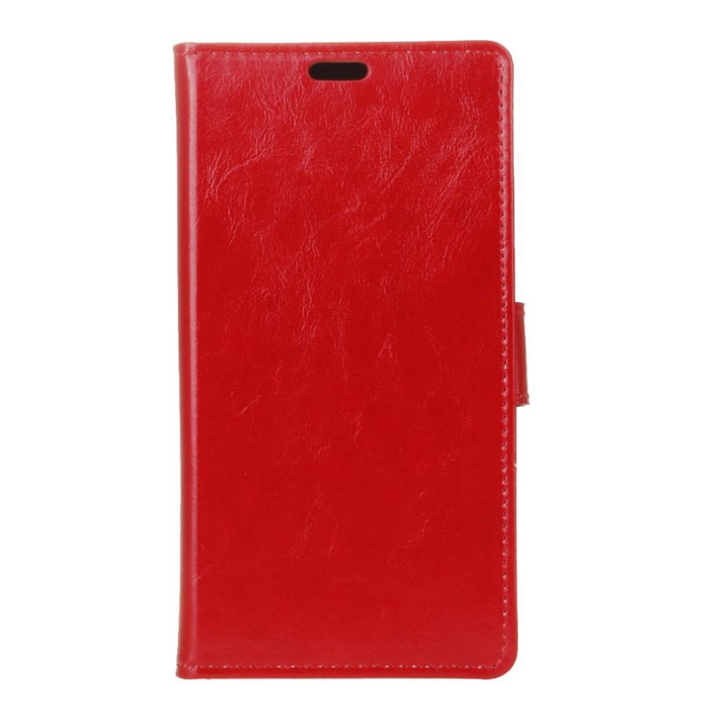 Billede af HTC U Ultra PU læder FlipCover m. Kortholder - Rød