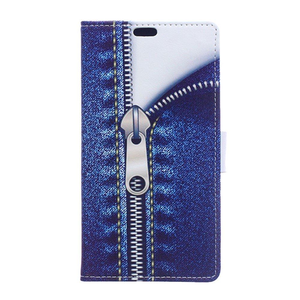 Billede af HTC U Ultra PU læder Flipcover m. Kortholder - Zipper