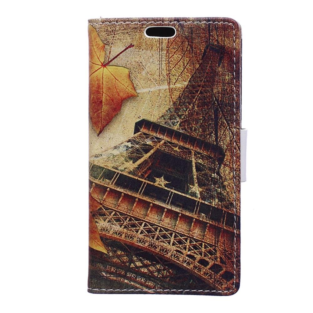 Billede af HTC U Play PU læder FlipCover m. Kortholder - Eiffel Tower
