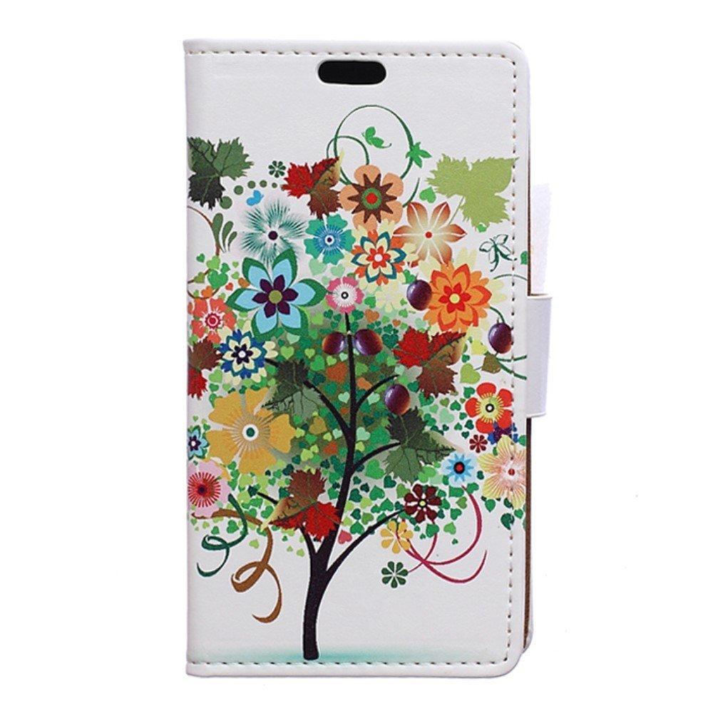 Billede af HTC U Play PU læder FlipCover m. Kortholder - Multi Tree