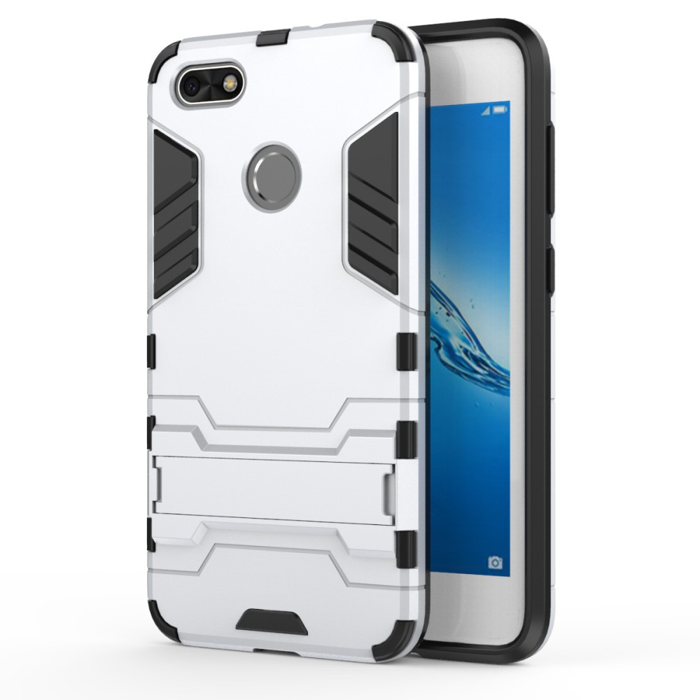 Billede af Huawei P9 Lite Mini inCover TPU Hybrid Cover - Hvid