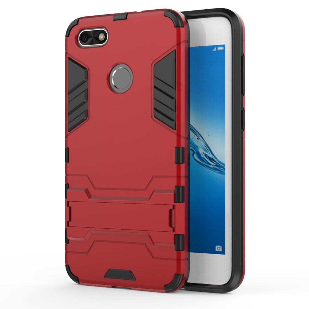 Billede af Huawei P9 Lite Mini inCover TPU Hybrid Cover - Rød