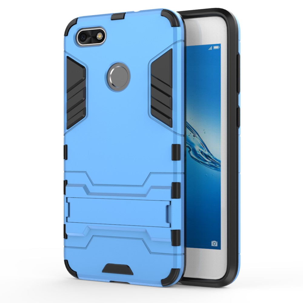 Billede af Huawei P9 Lite Mini inCover TPU Hybrid Cover - Lys Blå
