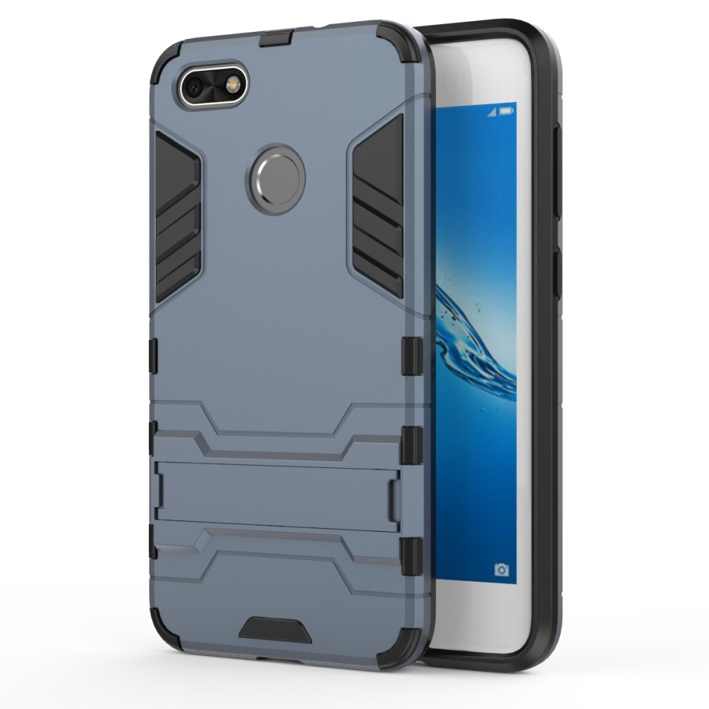 Billede af Huawei P9 Lite Mini inCover TPU Hybrid Cover - Mørk Blå