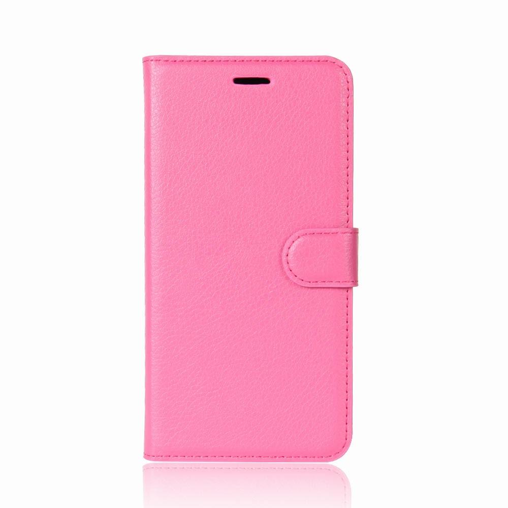 Billede af Huawei P9 Lite Mini PU Læder Flipcover m. Kortholder - Pink