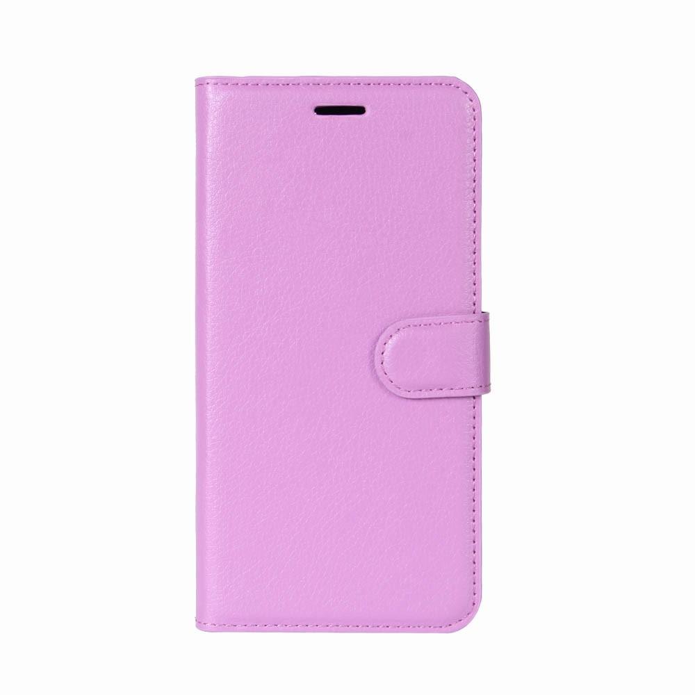 Billede af Huawei P9 Lite Mini PU Læder Flipcover m. Kortholder - Lilla