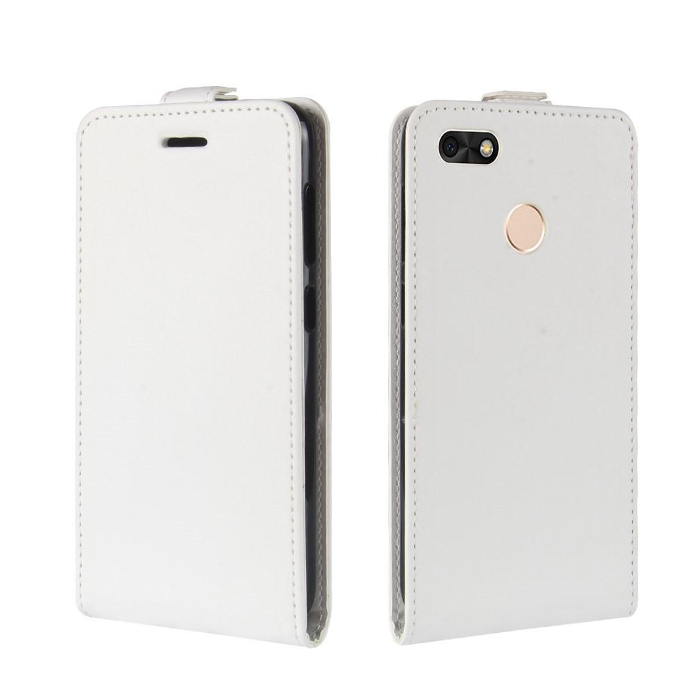 Billede af Huawei P9 Lite Mini Premium Vertikal Flipcover - Hvid