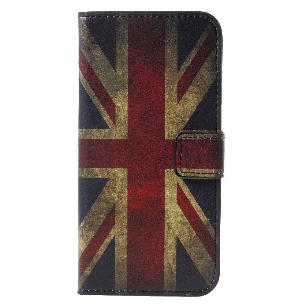 Billede af Huawei P9 Lite Mini Design Flip Cover med Pung - UK Flag