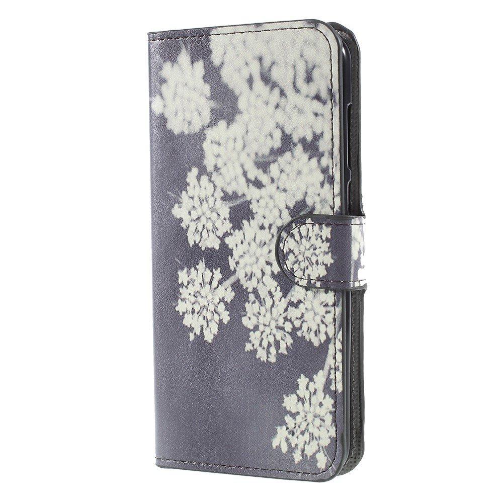 Billede af Huawei Mate 10 Lite PU læder Flipcover m. Kortholder - Blooming Flower