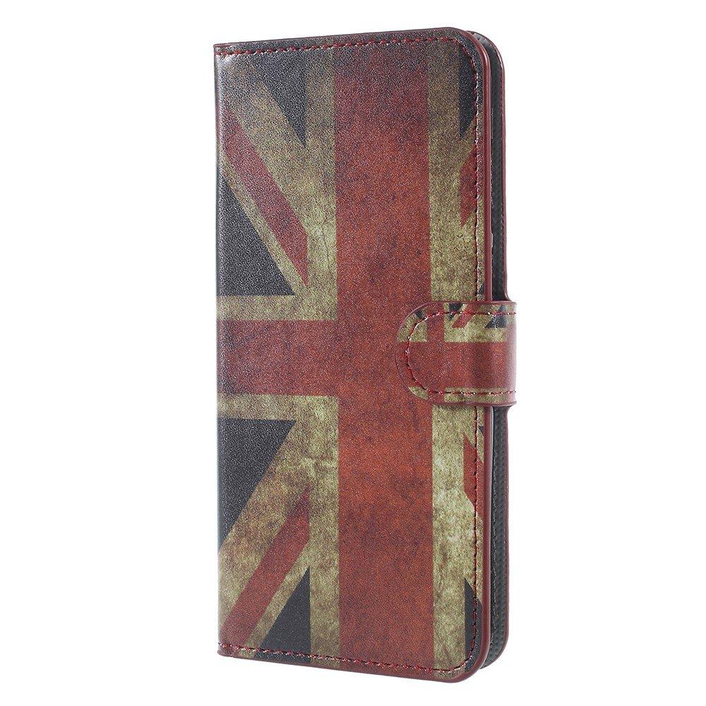 Billede af Huawei Mate 10 Lite PU læder Flipcover m. Kortholder - UK Flag