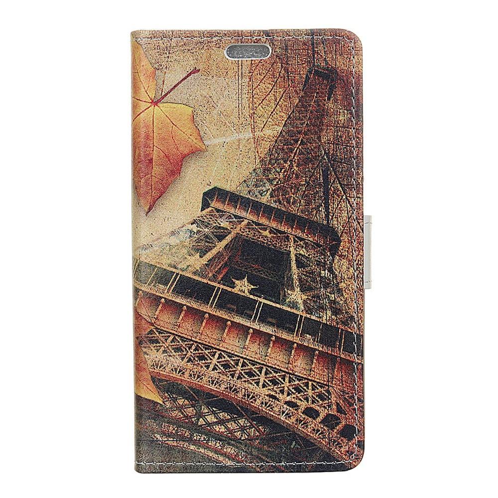 Billede af Huawei Mate 10 Lite PU læder Flipcover m. Kortholder - Eiffel Tower