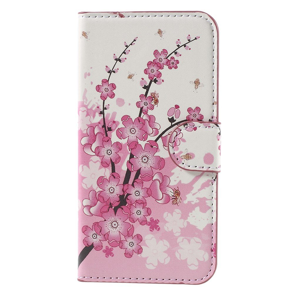Image of Huawei Ascend Y560 Smart Flip Cover m. Stand - Plum Blossom