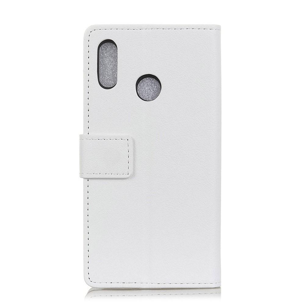 Image of Huawei P20 Lite inCover PU læder Flip Cover m. Stand og Kortholder - Hvid