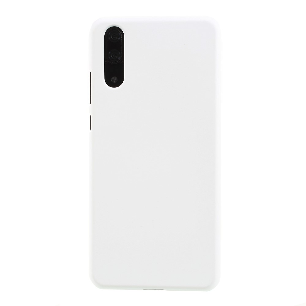 Image of Huawei P20 inCover Gummibelagt Cover - Hvid