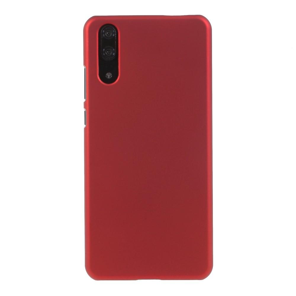 Image of Huawei P20 inCover Gummibelagt Cover - Rød