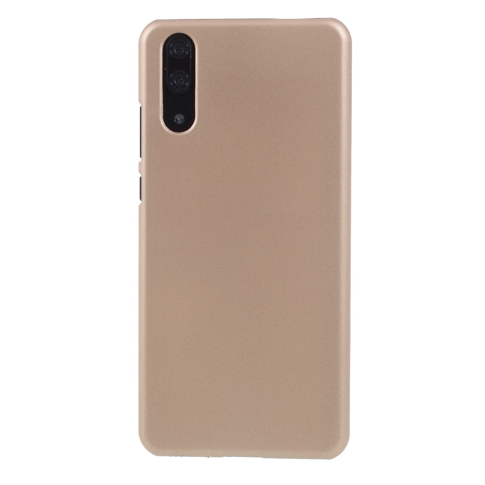 Image of Huawei P20 inCover Gummibelagt Cover - Guld