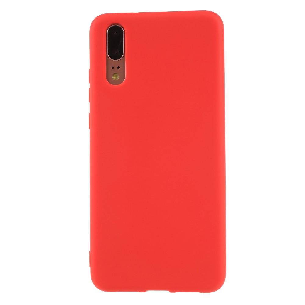 Huawei P20 inCover TPU Cover - Rød
