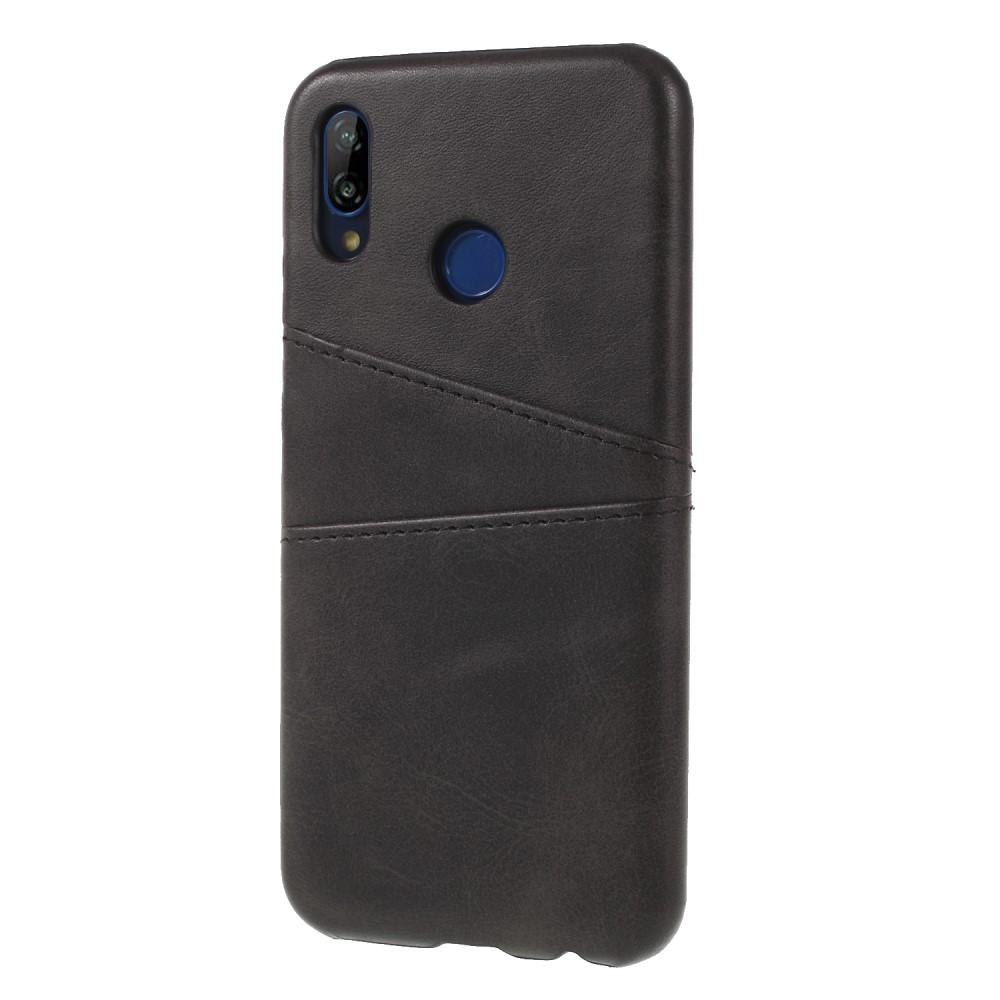 Image of Huawei P20 Lite inCover PU læder Cover m. Kortholder - Sort