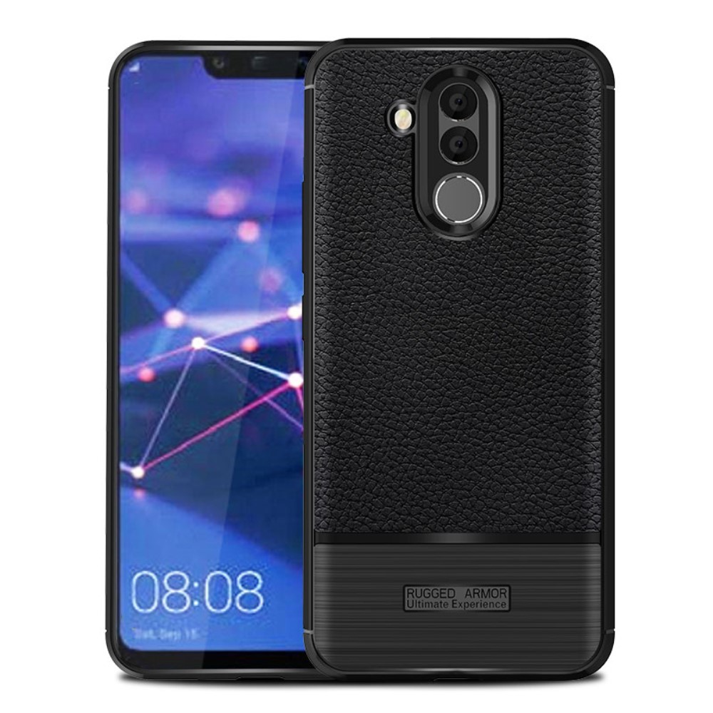 Huawei Mate 20 Lite Litchi TPU Cover - Sort