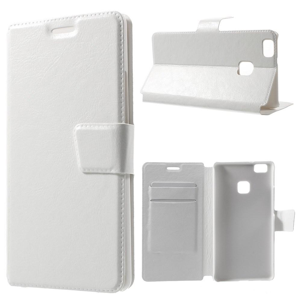 Billede af Huawei P9 Lite Deluxe Flip Cover Med Pung - Hvid