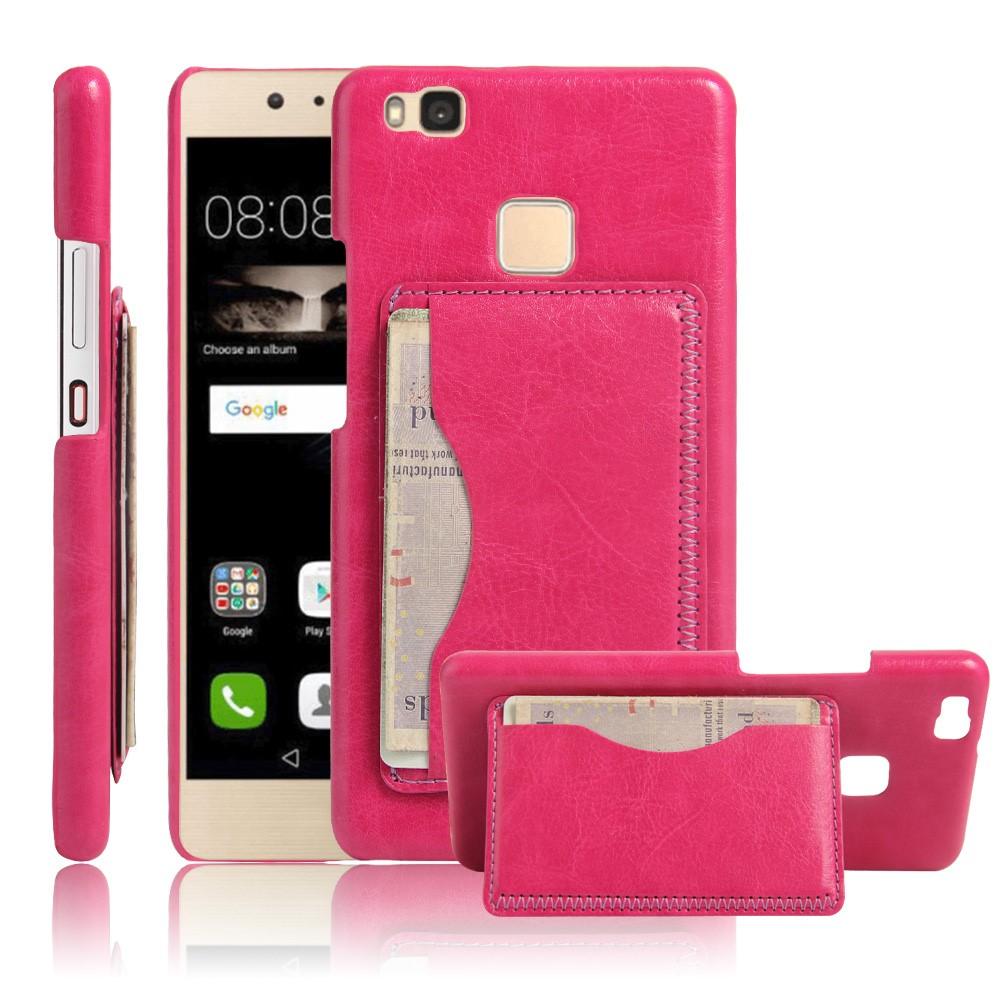Billede af Huawei P9 Lite Læder Bagcover m. Stand - Rosa