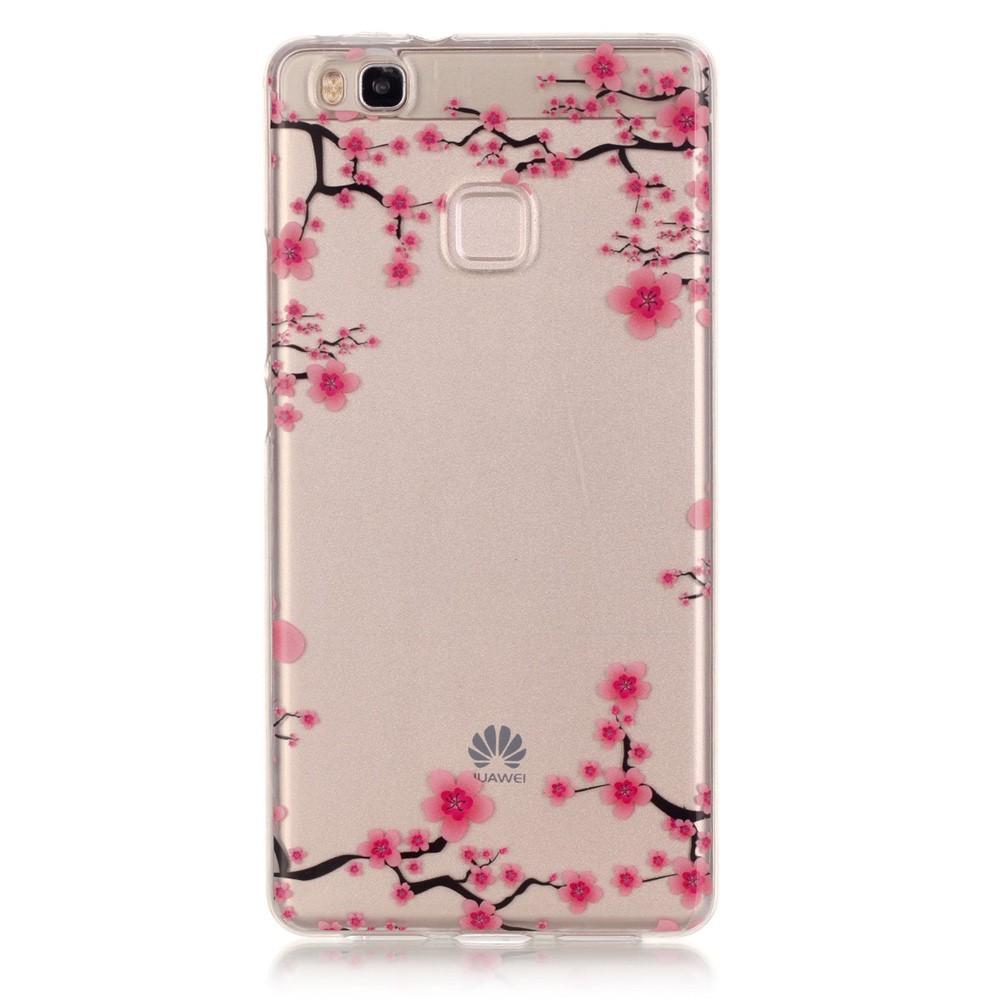 Billede af Huawei P9 Lite InCover TPU Cover - Plum Blossom