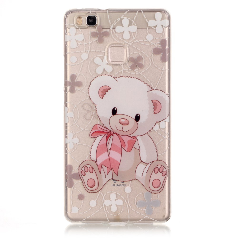 Billede af Huawei P9 Lite InCover TPU Cover - Adorable Bear