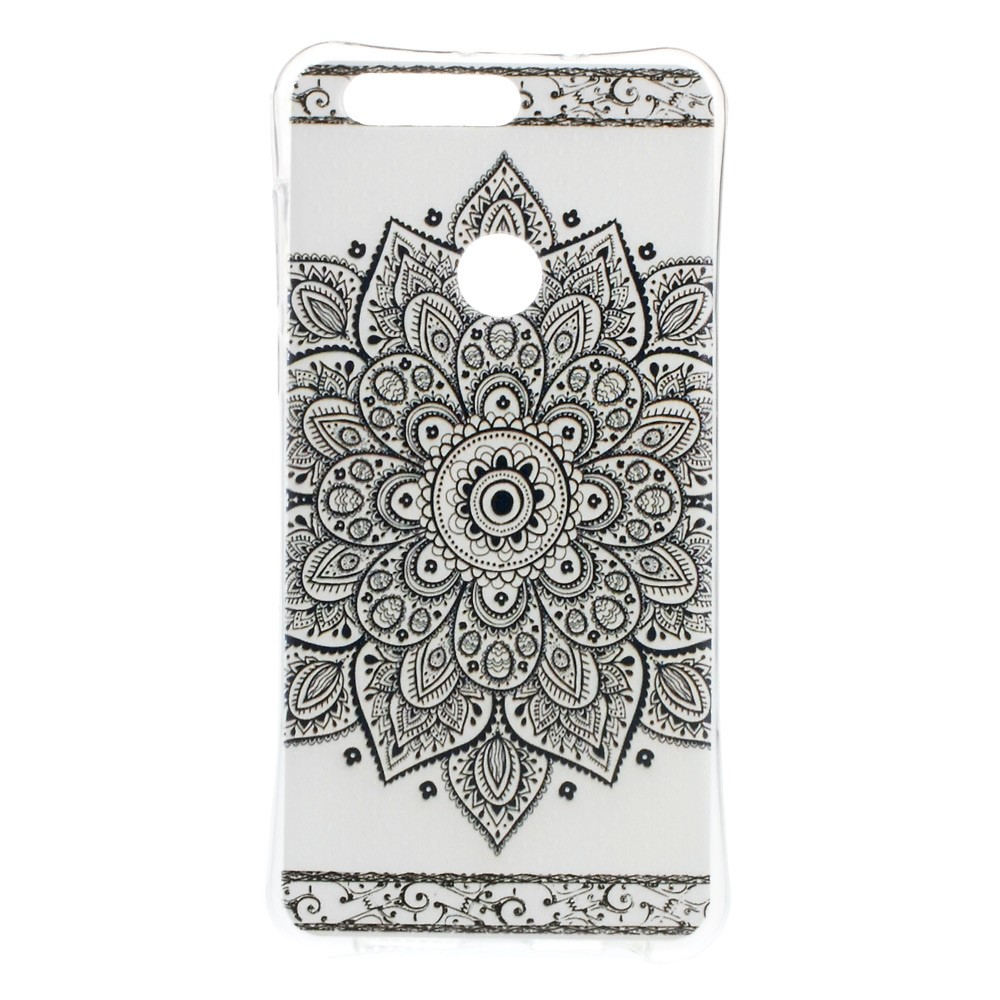 Billede af Huawei Honor 8 InCover TPU Cover - Mandala Flower