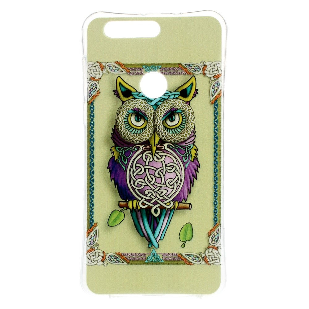 Billede af Huawei Honor 8 InCover TPU Cover - Fashionable Owl