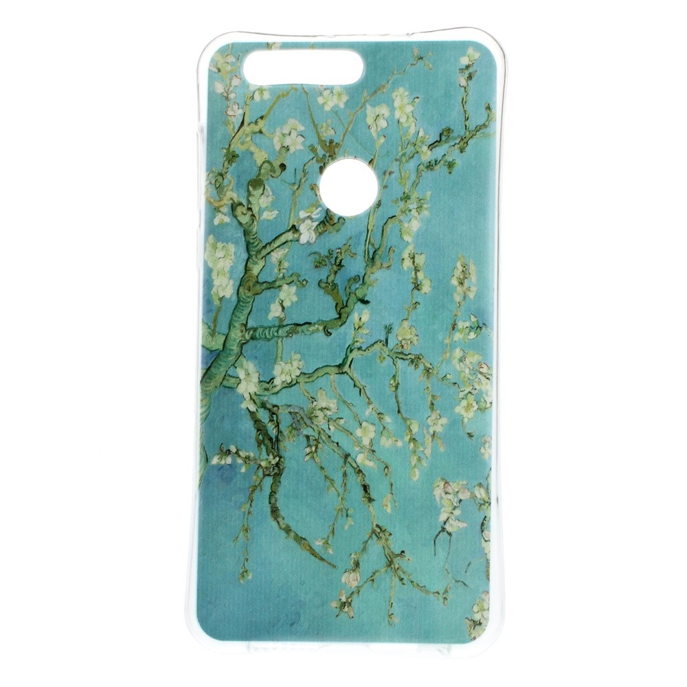 Billede af Huawei Honor 8 InCover TPU Cover - Almond Tree in Blossom