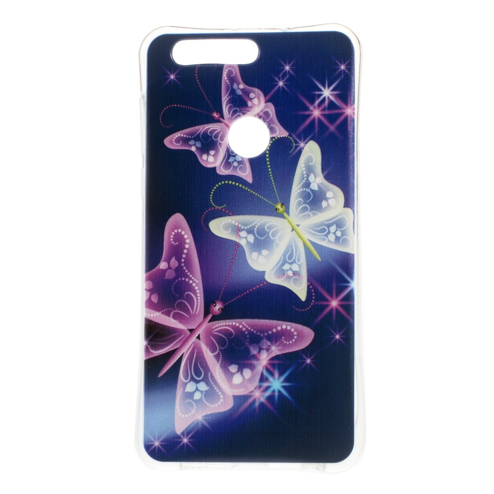 Billede af Huawei Honor 8 InCover TPU Cover - Beautiful Butterflies