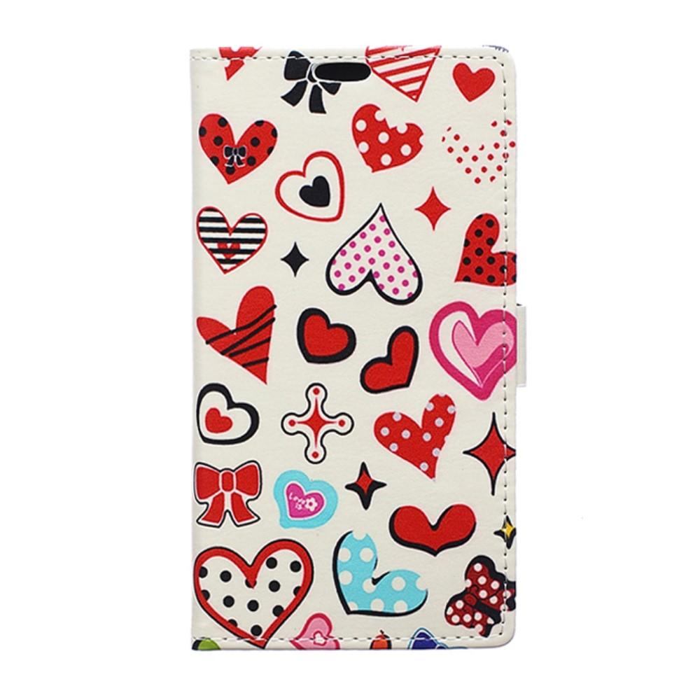 Billede af Huawei Honor 8 PU læder FlipCover m. Kortholder - Sweet Elements