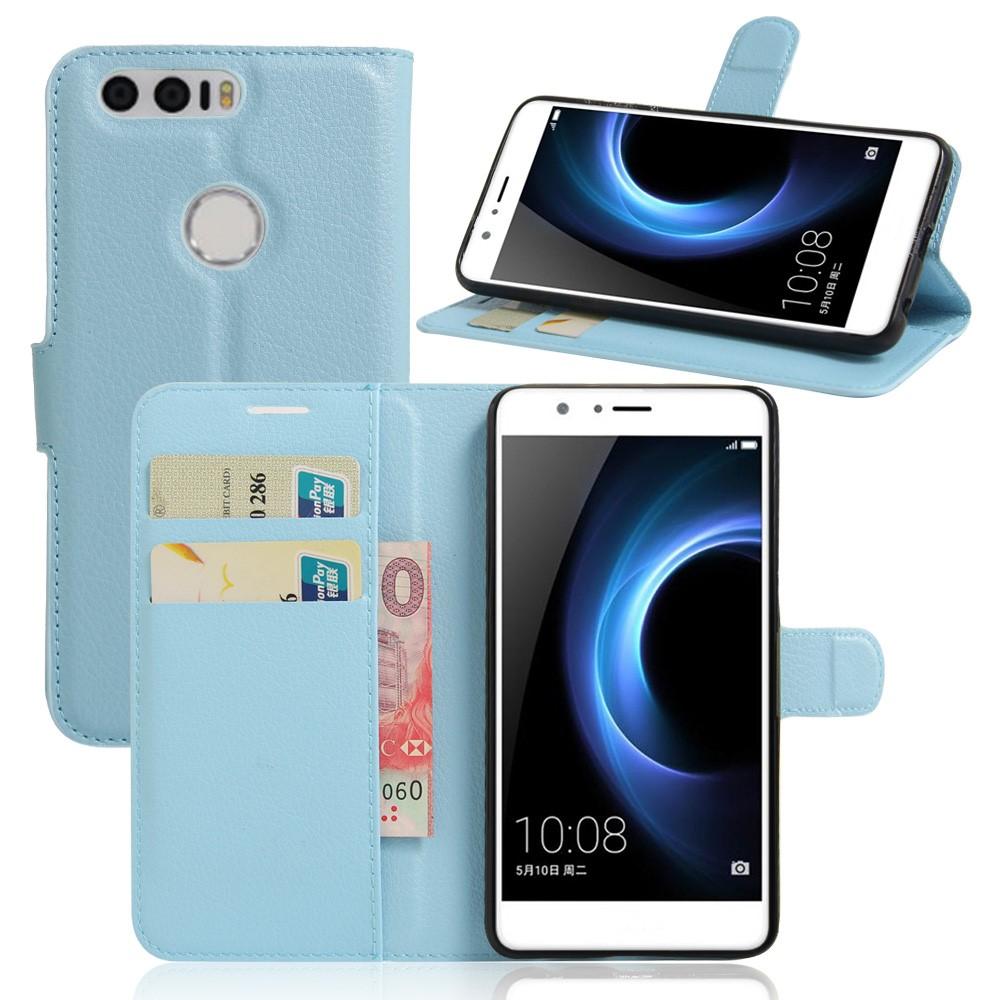 Billede af Huawei Honor 8 PU læder FlipCover m. Kortholder - Blå