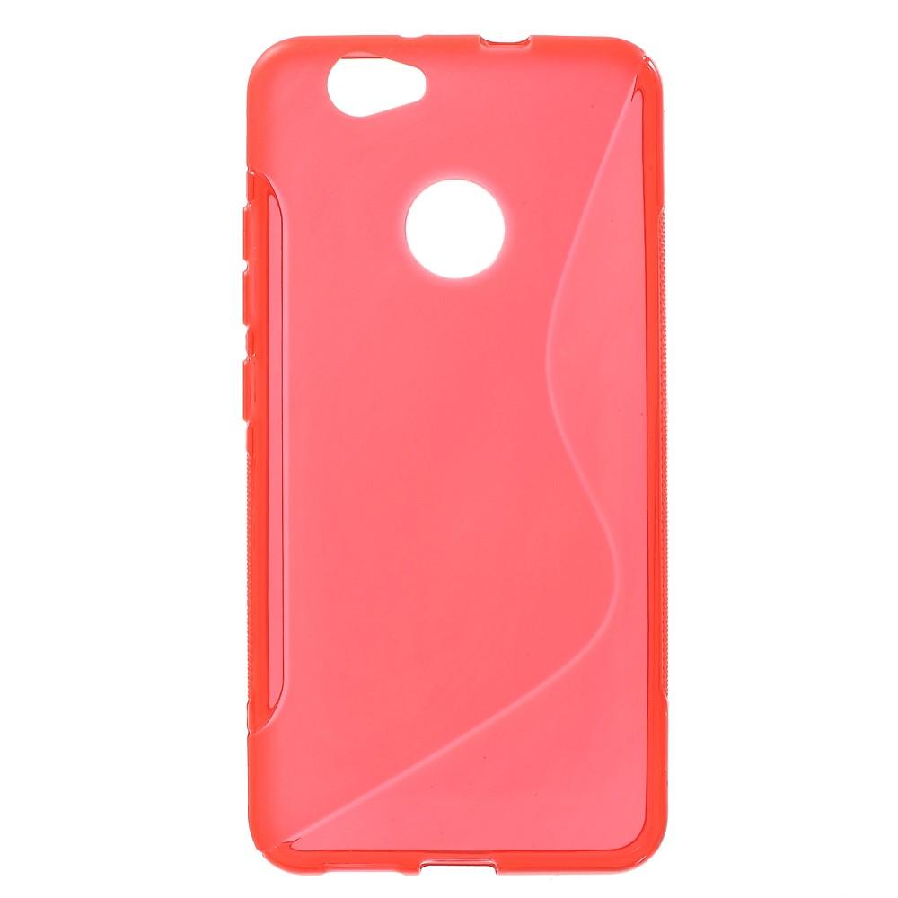Billede af Huawei Nova InCover TPU S-shape Cover - Rød